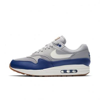 air max 1 grijs blauw