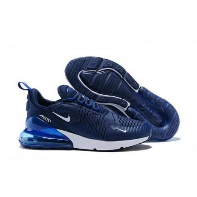 air max 270 wit blauw