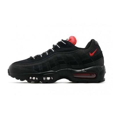 air max 95 zwart rood