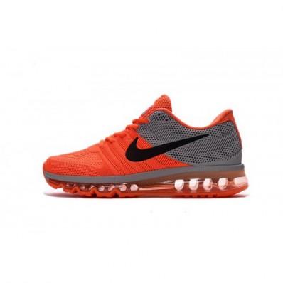 air max oranje zwart