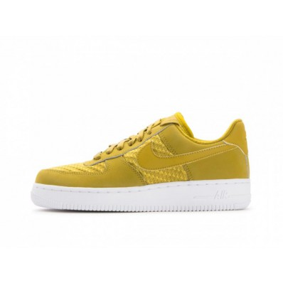 nike air force 1 07 dames geel