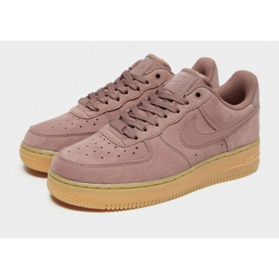 nike air force 1 07 suede roze