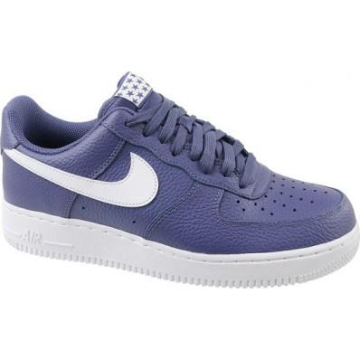 nike air force 1 heren blauw