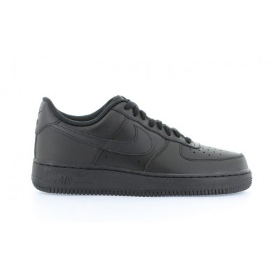 nike air force 1 low zwart heren