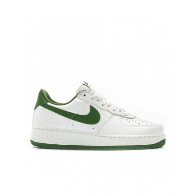 nike air force 1 wit groen
