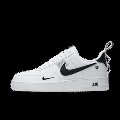 nike air force 1 wit met zwart