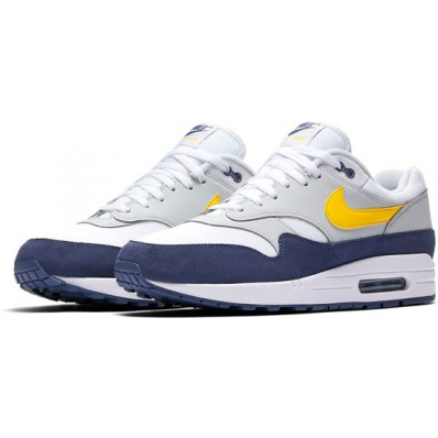 nike air max 1 blauw heren