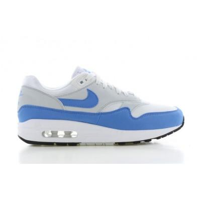 nike air max 1 dames blauw wit