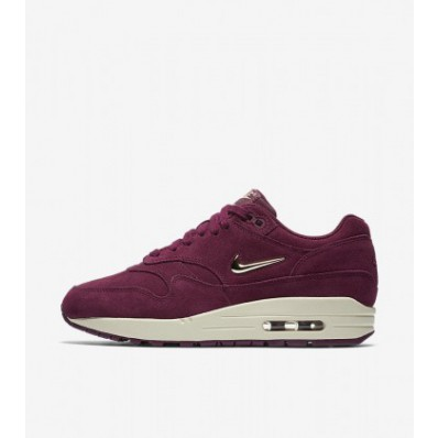 nike air max 1 dames bordeaux rood