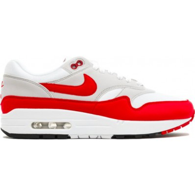 nike air max 1 dames rood wit