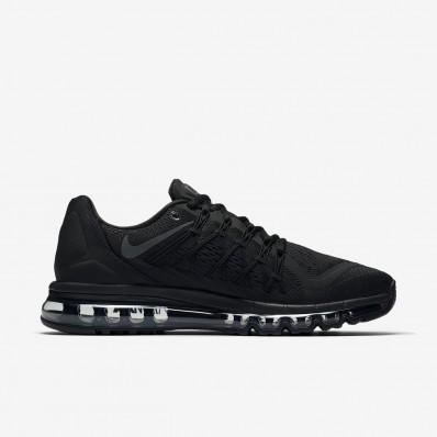 nike air max 2015 zwart