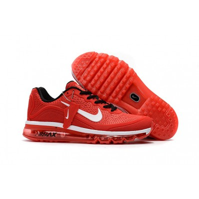 nike air max 2017 rood wit