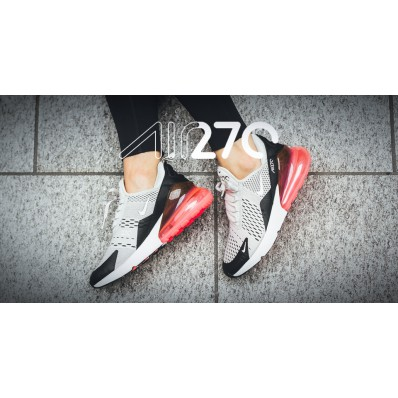 nike air max 270 dames roze zwart wit