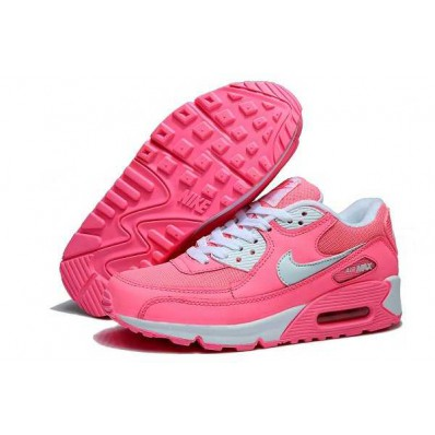 nike air max 90 dames neon roze