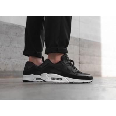 nike air max 90 prm w schoenen zwart grijs