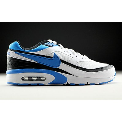 nike air max classic bw blauw