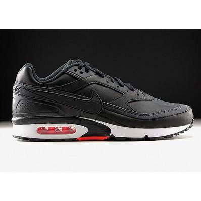nike air max classic bw zwart grijs
