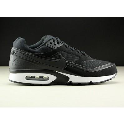 nike air max classic bw zwart wit