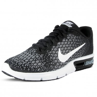 nike air max sequent 2 heren zwart