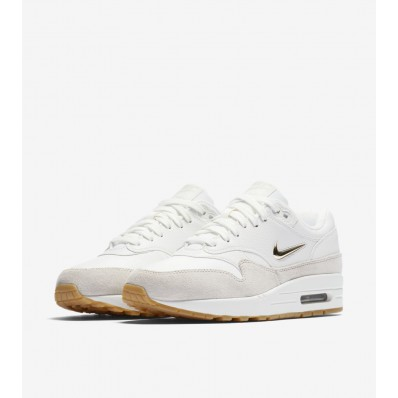 nike air max wit met goud dames