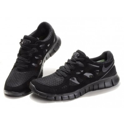 nike free run 2 zwart dames