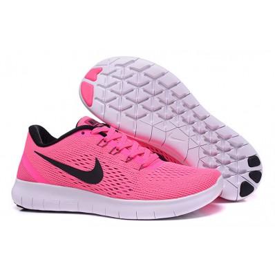 nike free run roze dames