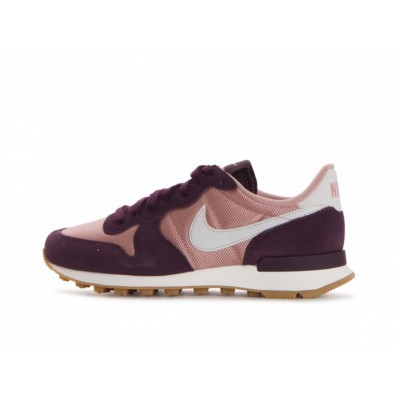 nike internationalist dames roze