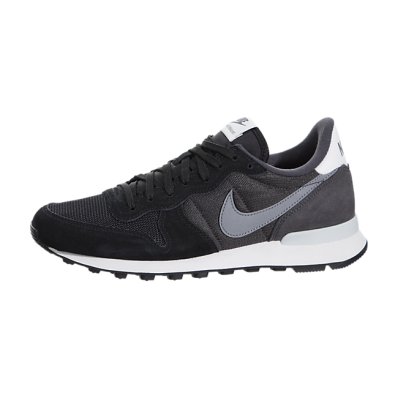 nike internationalist dames zwart grijs