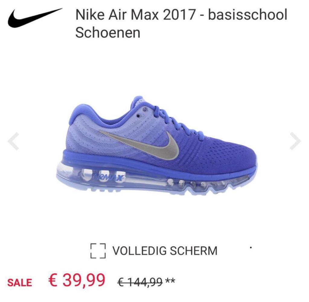 nike air max 2017 goedkoop maat 39