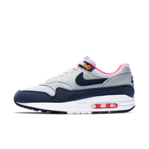 nike air max 1 wit blauw heren