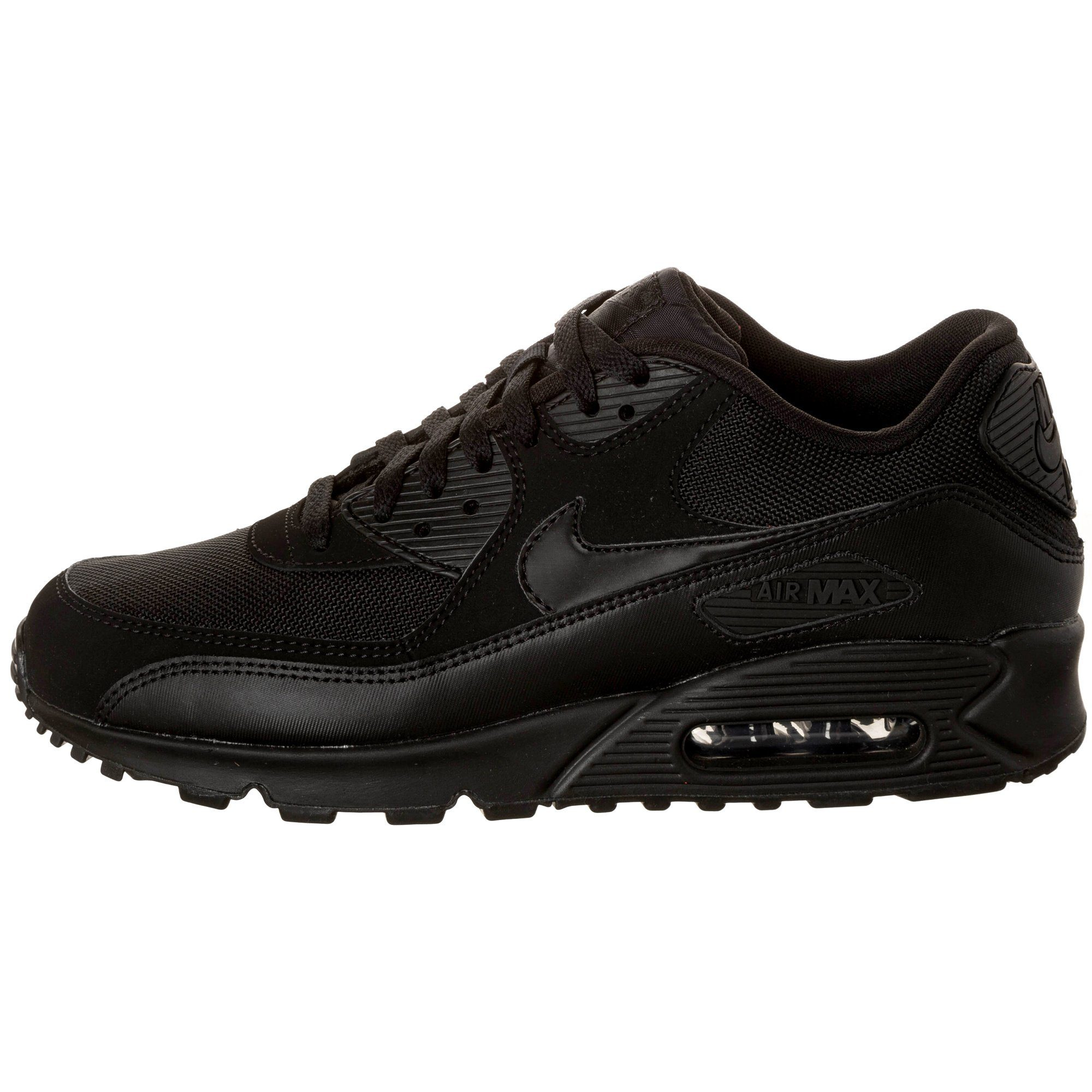 air max heren zwart
