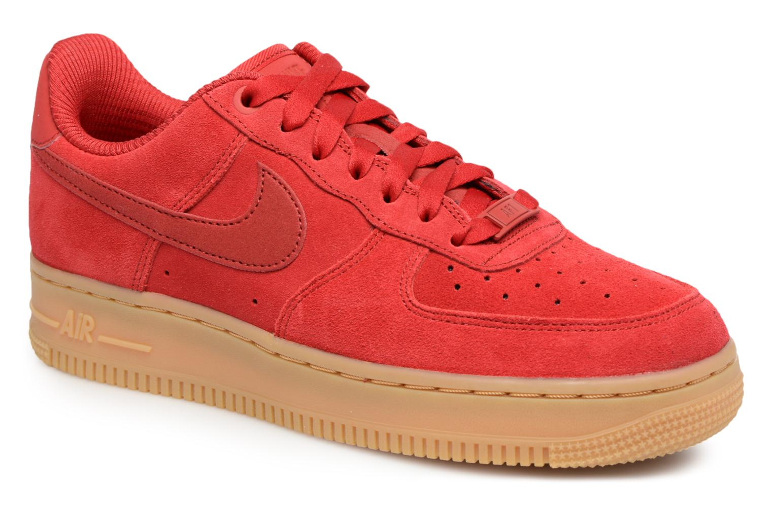 nike air force 1 dames rood
