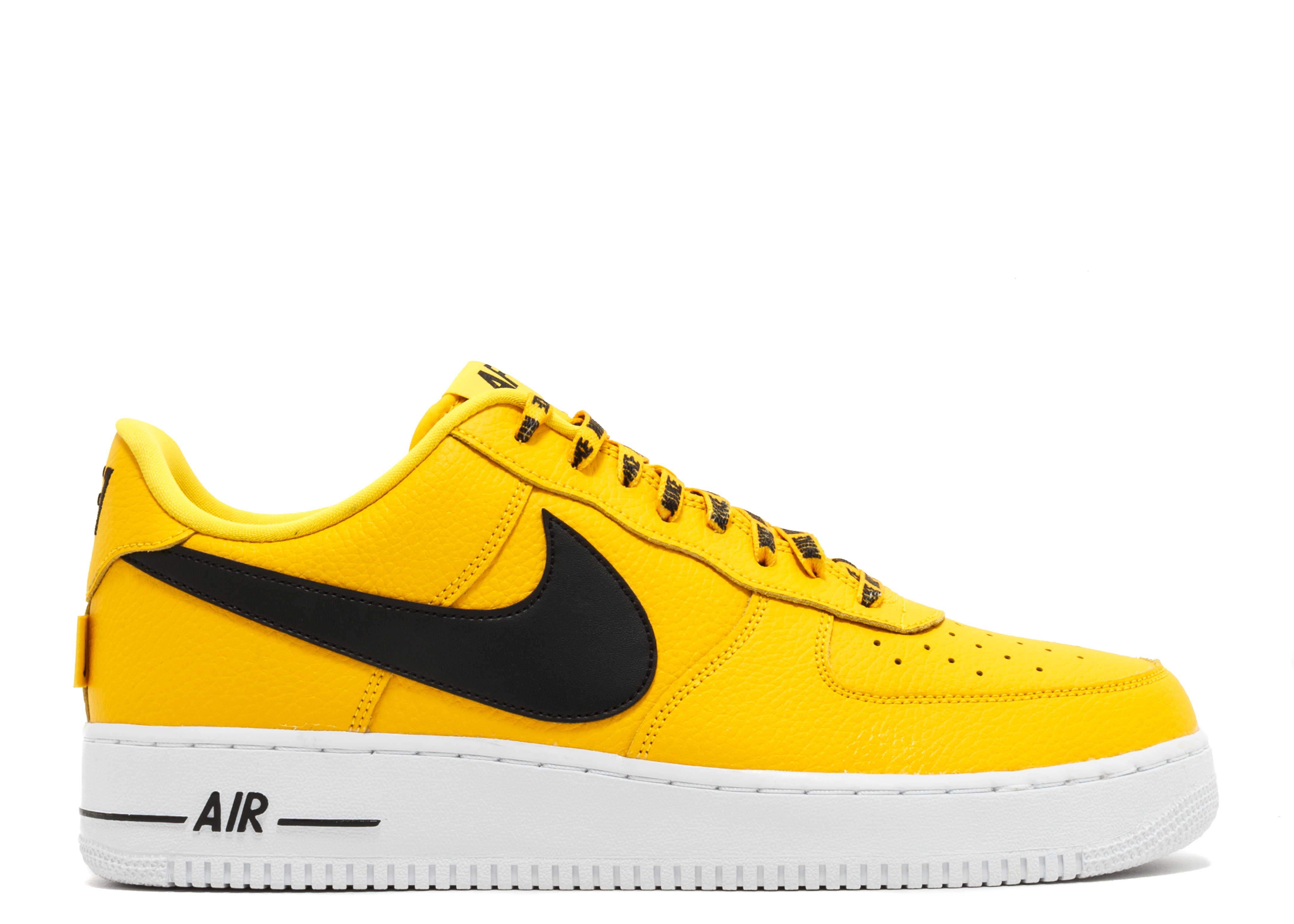nike air force 1 dames yellow