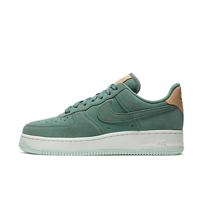 nike air force 1 low suede groen