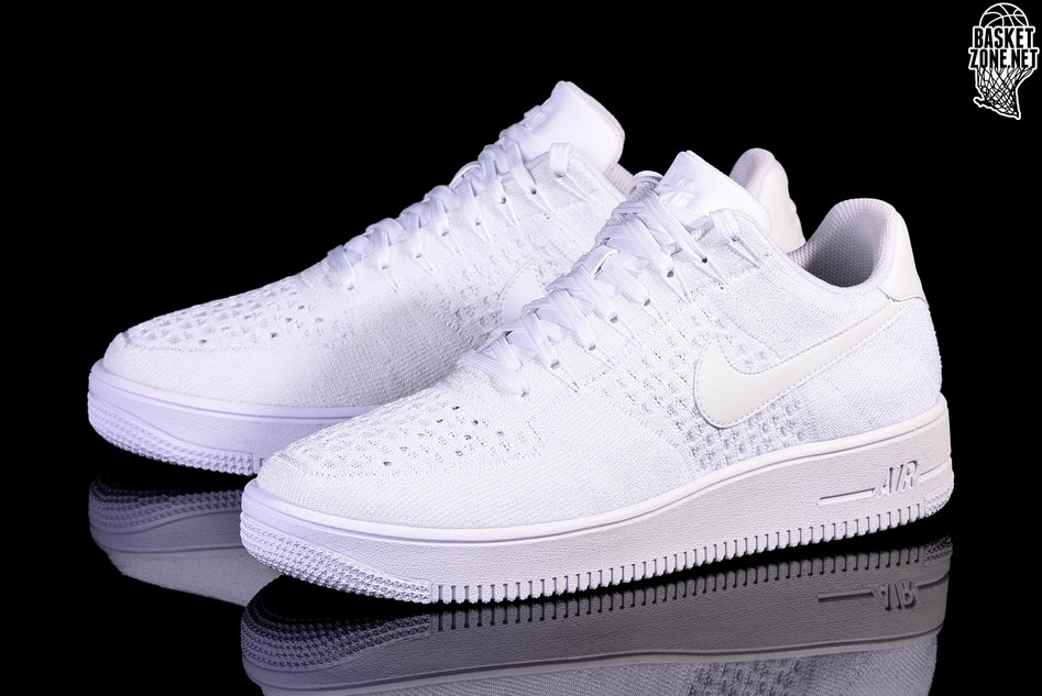 nike air force 1 ultra flyknit low wit