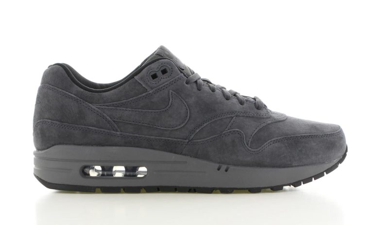 nike air max 1 grijs heren