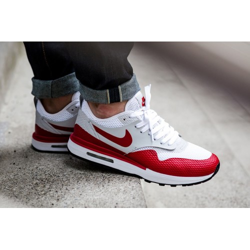 nike air max 1 heren rood