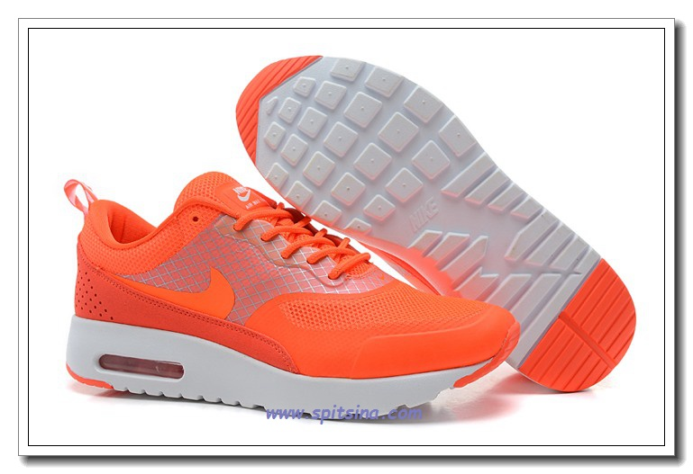 nike air max dames oranje
