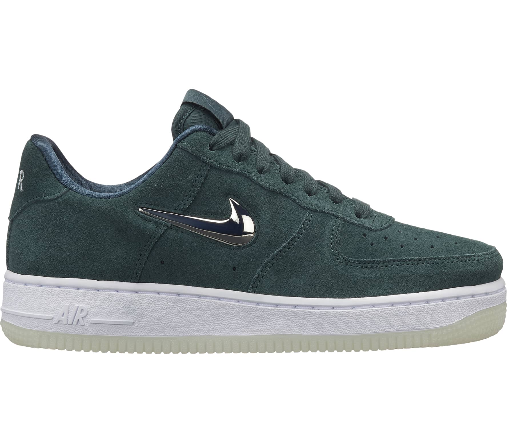 nike sportswear air force 1 '07 premium dames sneakers (groen)